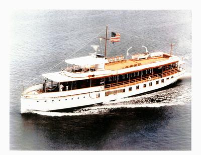 U.S.S. Sequoia Presidential Yacht. (PRNewsFoto/FE Partners, LLC) (PRNewsFoto/FE PARTNERS, LLC)