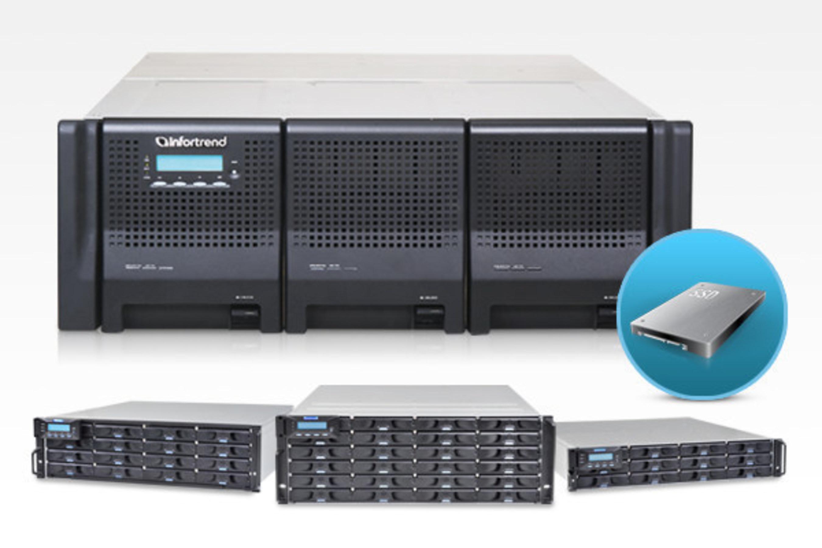 Infortrend представляет нового поколение систем EonStor DS 3000T с комплексными SSD-решениями