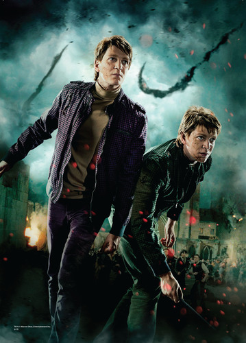 "Actors James And Oliver Phelps (""Fred And George Weasley"") Of The Harry Potter(TM) Film Series Visit ..."