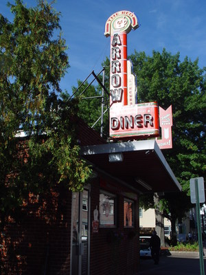 The Red Arrow Diner, in Manchester, New Hampshire, to be a broadcast center during the first presidential primary