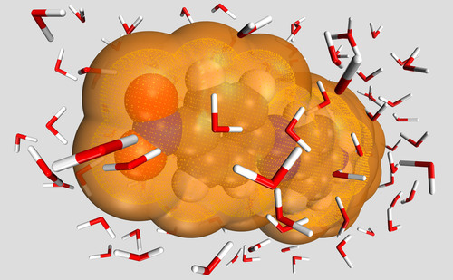 Estimate solubility of molecules in solvents using free energy of solvation. (PRNewsFoto/Accelrys, Inc.) ...