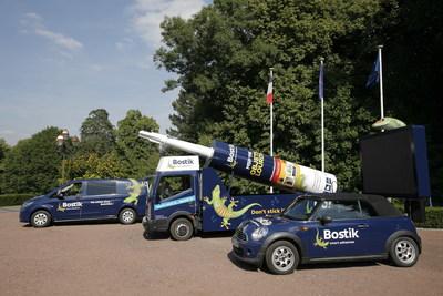 Bostik Races into Tour de France 2015