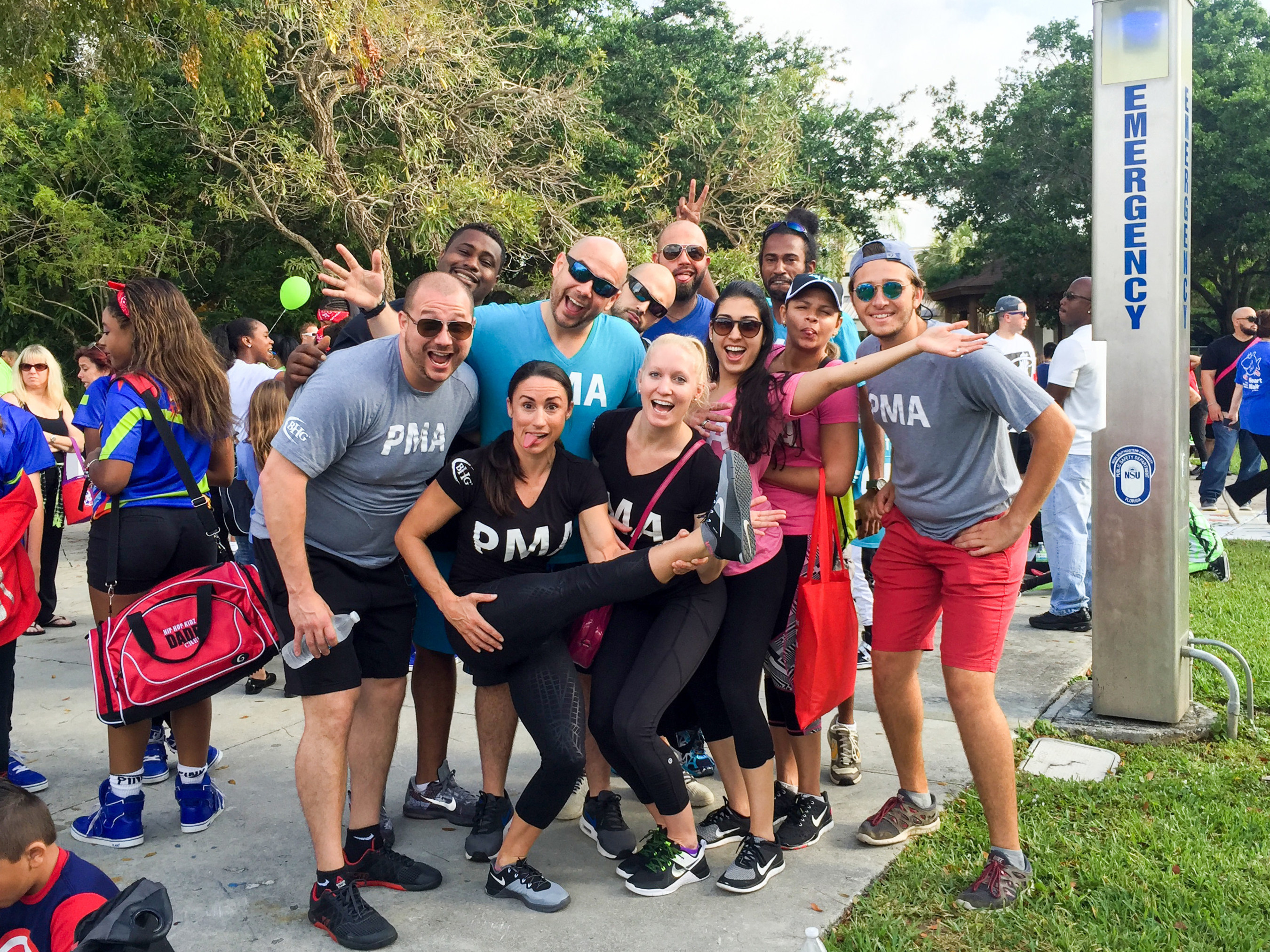 BHG employees participated in the Broward Heart Walk on Saturday, April 23 and raised $3,805 to support the American Heart Association.