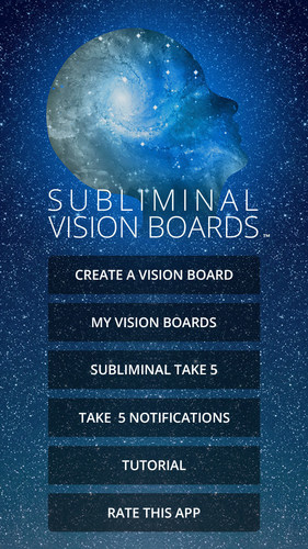 Subliminal Vision Boards™ Releases New Vision Board App to Assist Users to Achieve Goals and Dreams