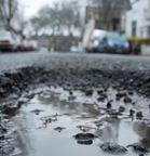 Road maintenance: additional funding barely keeping pace with repairs