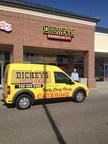 Bill Bridges stands outside his new Dickey's Barbecue location in Lewis Center. His second location opens Thursday with a three day event.