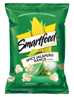Smartfood heats up snack time nationwide with the debut of the all-new Spicy Jalapeno Ranch flavor.