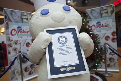 Pillsbury(TM) sets GUINNESS WORLD RECORDS(R) title for 'Most cookies/biscuits iced in one hour' in celebration of first ever National Cookie Decorating Day