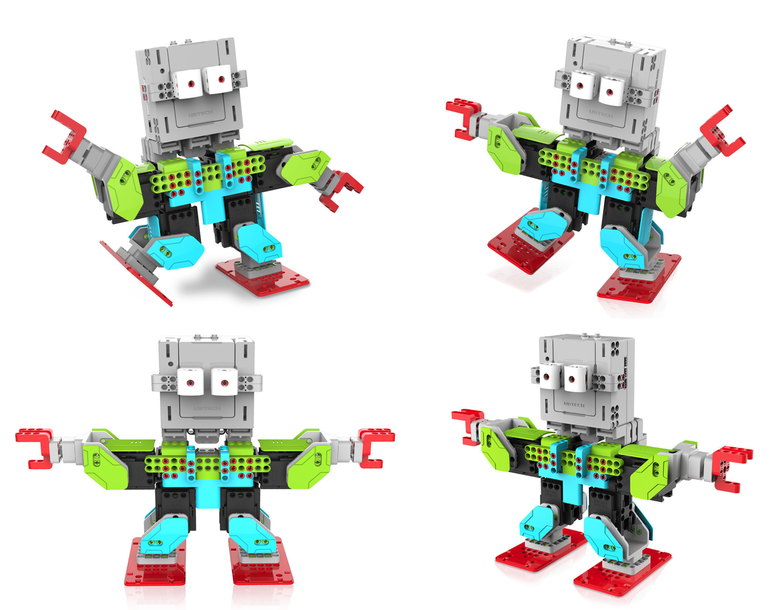JIMU Robot, the World's First Buildable, Programmable and Shareable Robotic Building Block Line Available World-wide Today