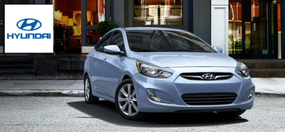 The 2013 Hyundai Accent helps college students be successful beyond graduation. (PRNewsFoto/Hesser Hyundai) (PRNewsFoto/HESSER HYUNDAI)