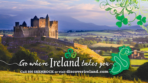 Feature Ireland on St. Patrick's Day