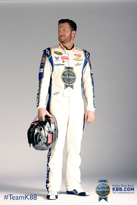 Kelley Blue Book is the primary sponsor of Dale Earnhardt Jr. at the NASCAR Sprint Cup Series event at Sonoma Raceway on June 22, 2014.