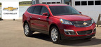 The 2014 Chevy Traverse has been updated for another model year. It is more capable and safer that previous models. It also takes advantage of the latest technology available.  (PRNewsFoto/Cavender Chevrolet)