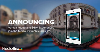 At the Forefront of Mobile Video, MediaBrix Opens Up New Creative Formats for Brands to Engage Consumers Through Its Proprietary Ad Delivery Platform