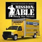 Penske Truck Rental Extends Support of Paralyzed Veterans of America