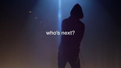 """Who's Next?"" still shot"