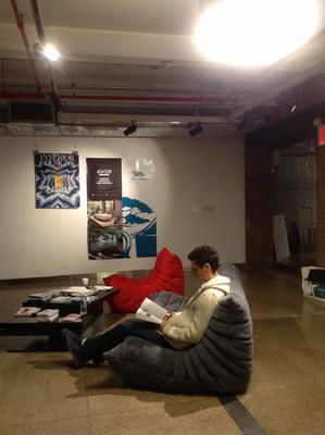 Ligne Roset sponsored Wanted Design's VIP Lounge.  (PRNewsFoto/Alcantara)