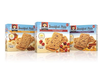 As the trusted breakfast leader, The Quaker Oats Company, a subsidiary of PepsiCo, Inc., has combined a delicious medley of ingredients with portability in new Quaker Breakfast Flats, spring's must-have snack that helps get you where you need to go, no matter where the day takes you.