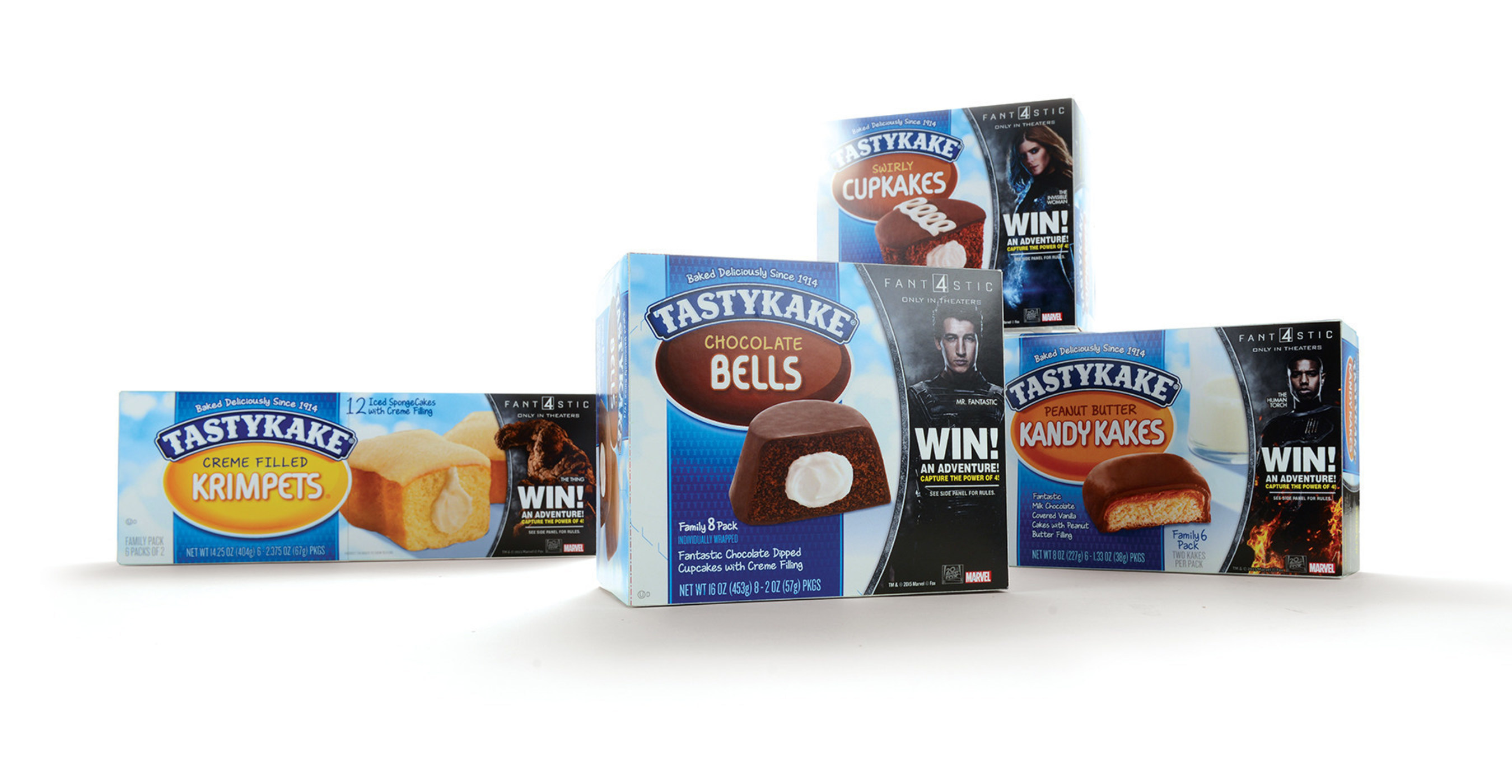 Tastykake captures the power of Four with Fantastic Four Partnership, Sweepstakes and Limited Edition Packaging.