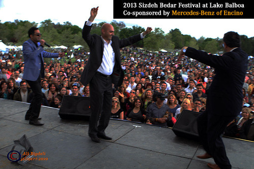 2013 sizdeh bedar persian festival attracts more than for Mercedes benz of encino