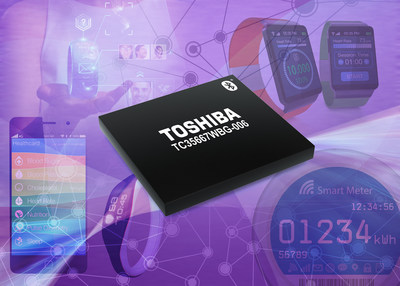 The TC35667WBG-006 Bluetooth Low Energy IC from Toshiba supports communication for a wide range of  low-profile Bluetooth Smart applications.