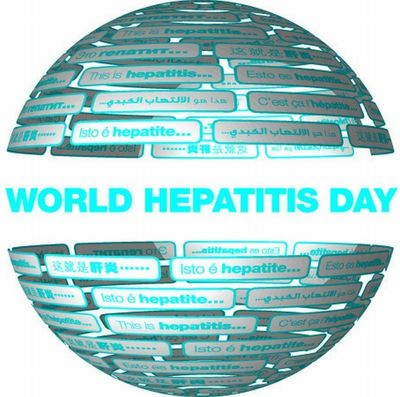 World Hepatitis Day Globe