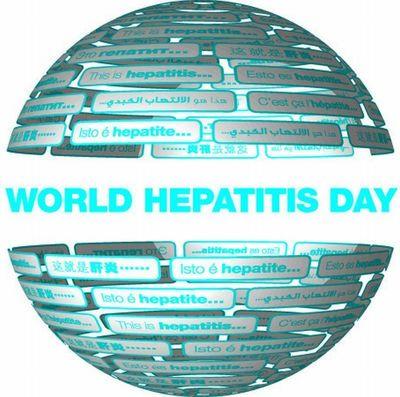 World Hepatitis Day Globe