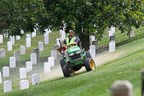 Hundreds of Lawn Care And Landscape Professionals Donate Their Services To Care For The Grounds Of Historic Arlington National Cemetery On July 28