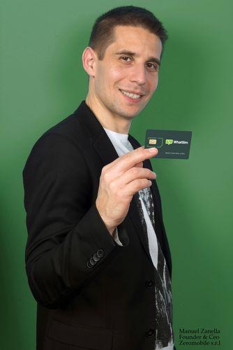 Manuel Zanella, Founder & CEO, Zeromobile S.r.l. (PRNewsFoto/Zeromobile)