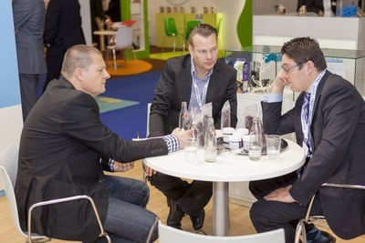 Fi Europe visitors networking (PRNewsFoto/UBM EMEA)