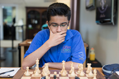 International Master Akshat Chandra Wins Prestigious Junior Closed Championship on July 15, 2015 at the Chess Club and Scholastic Center of Saint Louis.