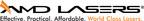 AMD LASERS Logo
