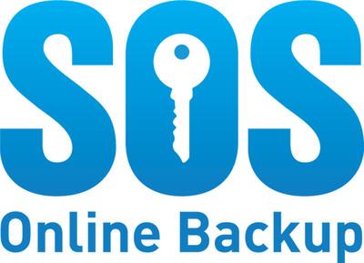 SOS Online Backup logo.  (PRNewsFoto/SOS Online Backup)