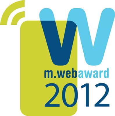 Logo for the Web Marketing Association's MobileWebAward Competition.  (PRNewsFoto/Web Marketing Association)