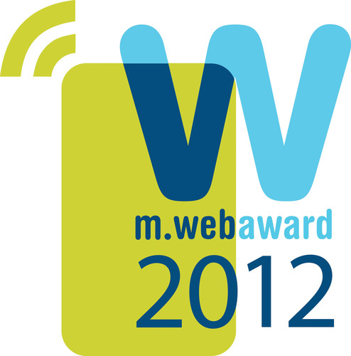 Logo for the Web Marketing Association's MobileWebAward Competition.  (PRNewsFoto/Web Marketing Association)