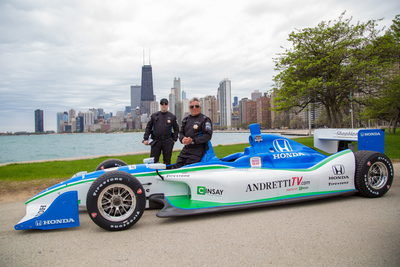 Honda Touts 'Fastest Seat in Sports' Sweepstakes to Support IndyCar Affiliation; Video and Social Feature Mario Andretti and 'Slow Citations'. (PRNewsFoto/American Honda Motor Co., Inc.)