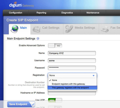 Digium's intuitive point-and-click GUI allows for easy navigation and effortless setup.  (PRNewsFoto/Digium, Inc.)