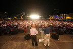 Churches in Tirana reached thousands of fellow citizens with a message of hope through TiranaFest with Luis Palau