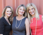 Breathless Wines' founders and sisters (L to R): Cynthia Faust, Rebecca Faust and Sharon Cohn