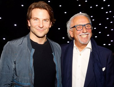 Oscar Nominee Bradley Cooper and Roberto Coin // Photo Courtesy of Colin Young-Wolff