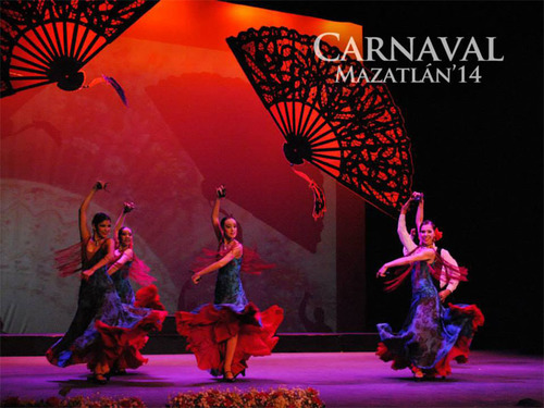 Evening of the Arts combines 30 of the best musicians and choreographers and is only one of the many cultural events taking place during Carnival 2014 in Mazatlan, Mexico.  (PRNewsFoto/Mazatlan)