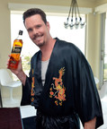 Kevin Dillon on set with the Johnny Drama Blend. Credit Charley Gallay.