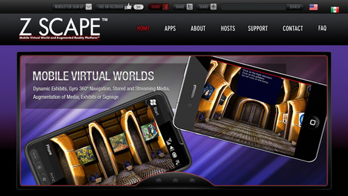 The Illusion Factory Develops Z Scape™ - The Mobile Virtual World and Augmented Reality Platform™