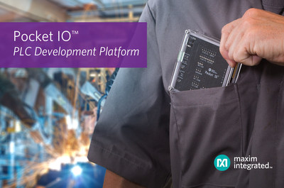 Maxim Integrated's Pocket IO PLC Development Platform