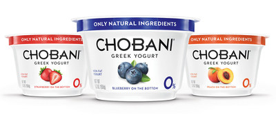 Chobani Partners With IMG To Reach New Greek Yogurt Fans (PRNewsFoto/Chobani)