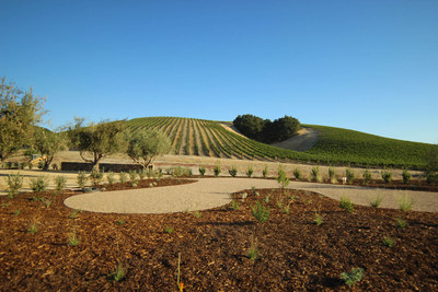 The design was grounded in nature and accentuates the natural beauty of Heart Hill. The winery's expanded grounds include new wine tasting areas, Petanque courts, private seating and an olive tree grove.