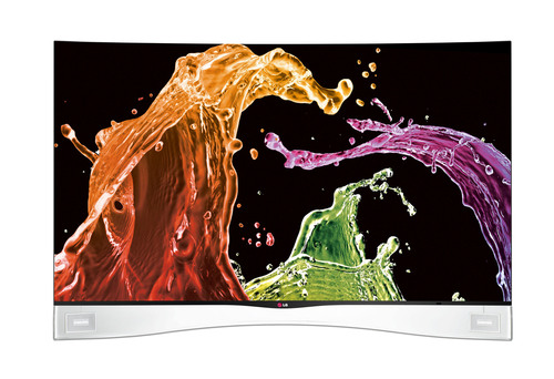 The new LG CURVED OLED HDTV, the first of its kind in the U.S., goes on sale today. The new TV produces astoundingly vivid and realistic images thanks to LG's proprietary WRGB technology. The unique WRGB four-color pixel system features a white sub-pixel that works in conjunction with conventional red, green and blue pixels to create the perfect color output. LG's exclusive Color Refiner delivers even greater tonal enhancement, resulting in images that are more vibrant and natural than anything seen before.  (PRNewsFoto/LG Electronics ...