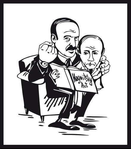 Human rights groups employ cartoons to bring attention to Belarus. Cartoon created by US-based Belarusians in ...