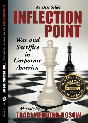 #1Best Seller Inflection Point wins Beverly Hills Book Award cover art