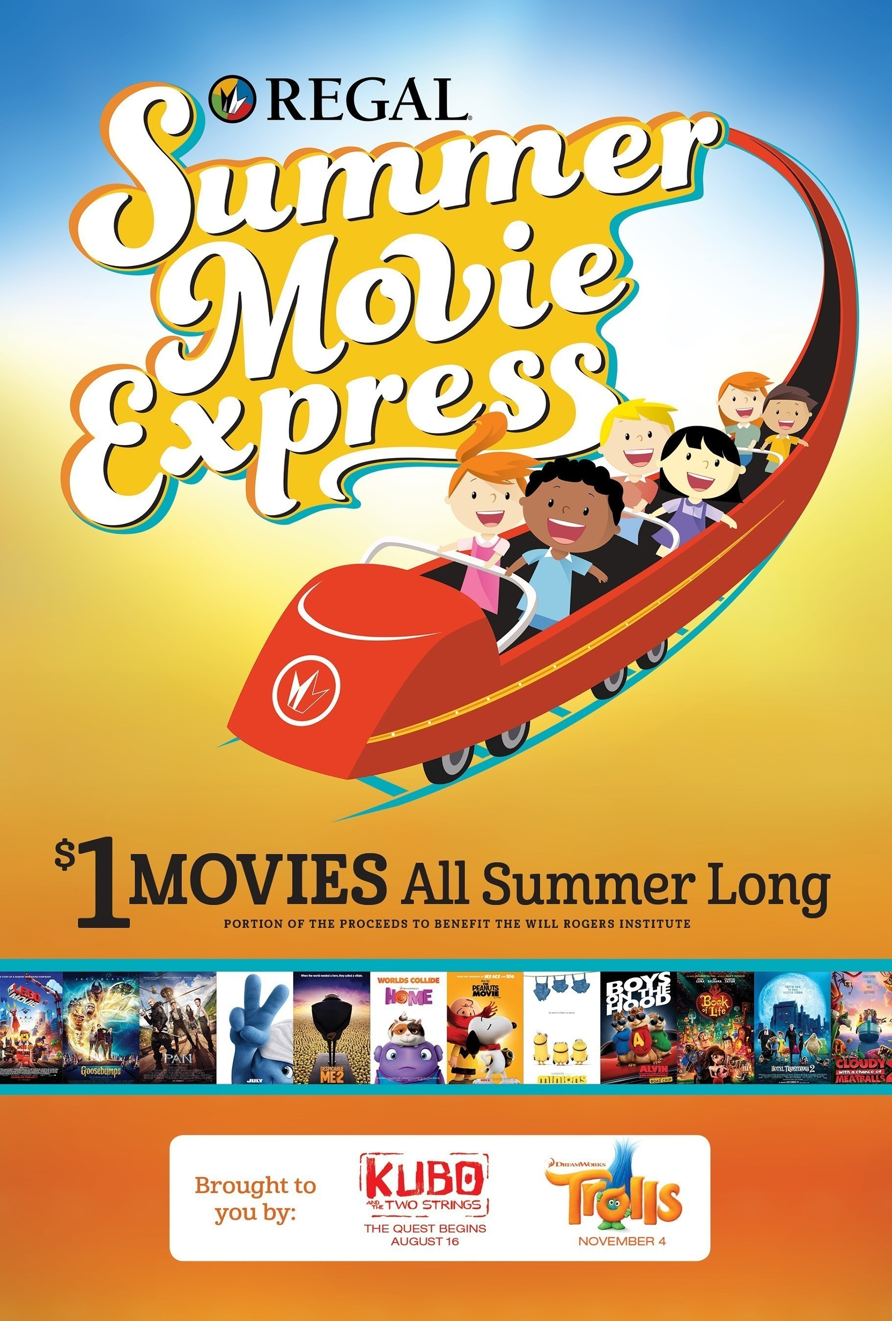 Regal Entertainment Group Announces $1 Movies for 2016 Summer Movie ...